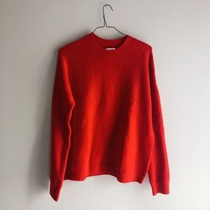& Other Stories / Mock Neck Sweater / Size Large